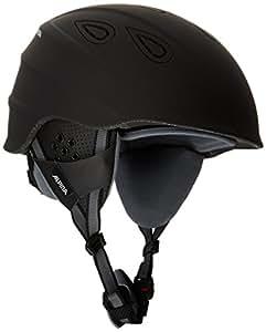 Alpina Erwachsene Skihelm Grap 2.0, Black Matt, 54-57 cm, 9085230