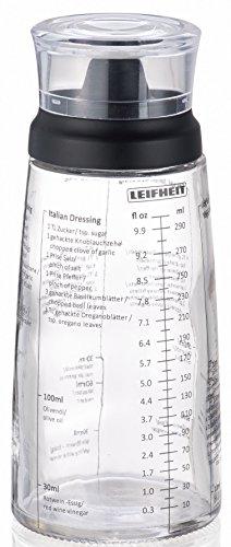 Leifheit 6686-Mezclador para vinagretas, Escala de medición en ml y FL oz, 7.5 cm