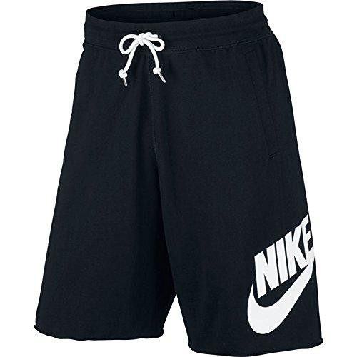 Nike Herren Sportswear Logo Shorts, Black/White, M