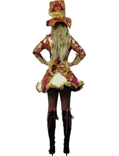 Imagen de yummy bee traje de disfraces cuento fiesta té sombrerero loco disfraz mujer lujo alicia maravillas talla grande 34  48 donna 46 48  alternativa