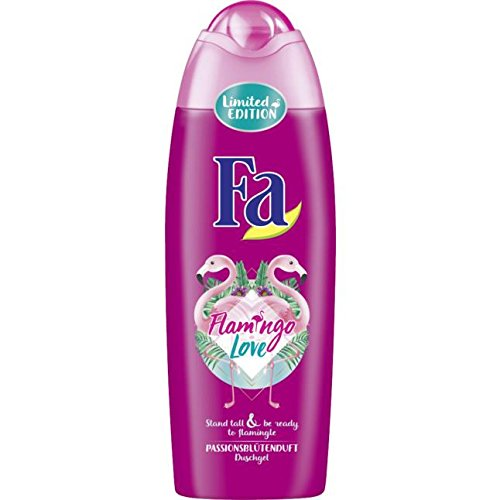 Duschgel FLAMINGO LOVE (Passionsblütenduft / 250 ml) LIMITED EDITION