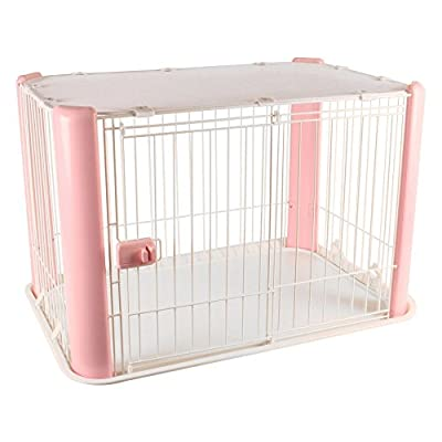 IRIS Wire Dog Crate with Mesh Roof by IRIS USA