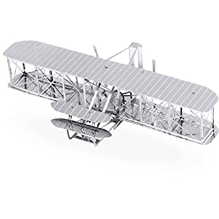 Metal Earth Wright Brothers Plane Model