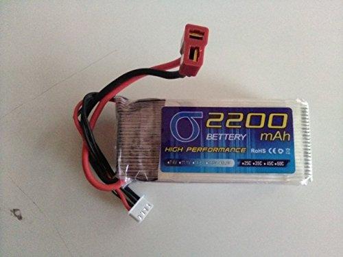 Core Technologies Lipo Battery 11.1v 2200mAh 35C.3S