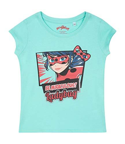 Miraculous Mädchen T-Shirt Türkis 140 -