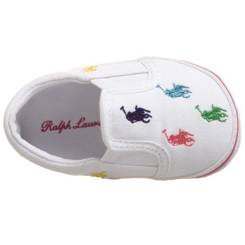 Polo Ralph Lauren Bal Harbour Repeat Layette 25217 Unisex-Baby Lauflernschuhe Weiß (White)