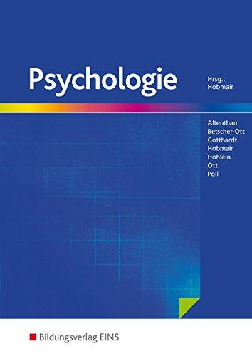 Buchcover Psychologie. (Lehr-/Fachbuch)