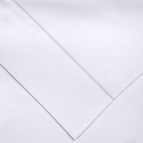 pointehaven Kissenbezüge, Pima-Baumwolle, Fadenzahl 800, Standard, Blau Standard weiß -