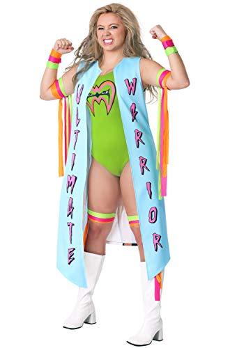 Fun Costumes Ultimate Warrior Kostüm für Damen - ()