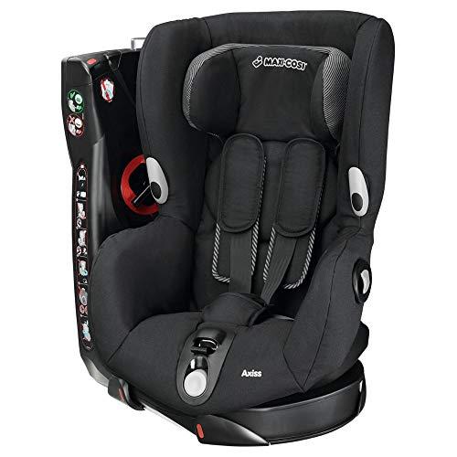 Maxi-Cosi Axiss, drehbarer Kindersitz, Gruppe 1 Autositz (9-18 kg), nutzbar ab 9 Monate bis 4 Jahre, black raven