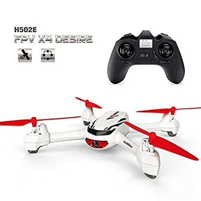 Hubsan H501S 5.8G FPV Brushless with 1080P? Flying radius: 300±20 (omnidirectional) from HUBSAN
