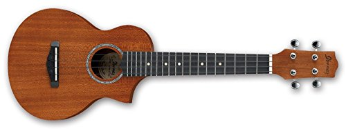 Ibanez UEW5-OPN - Ukulele acústico, color natural