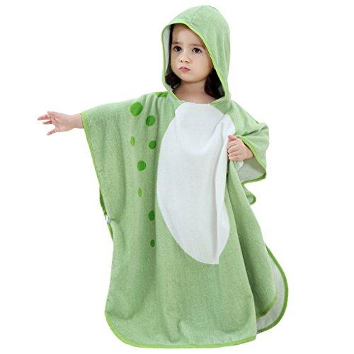 Baby Jungen Mädchen Kapuzen Bademantel - Kinder Badetuch Kleinkind 100% Baumwolle Decke Saugfähigen Handtücher Cartoon Tier Nachtwäsche