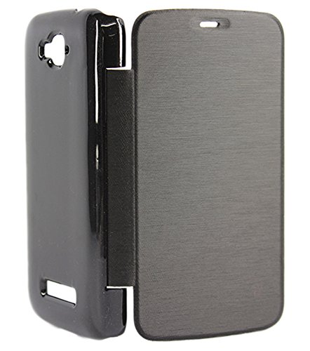DMG Flip Book Hard Back Cover Case For Panasonic P31 (Black)  available at amazon for Rs.299
