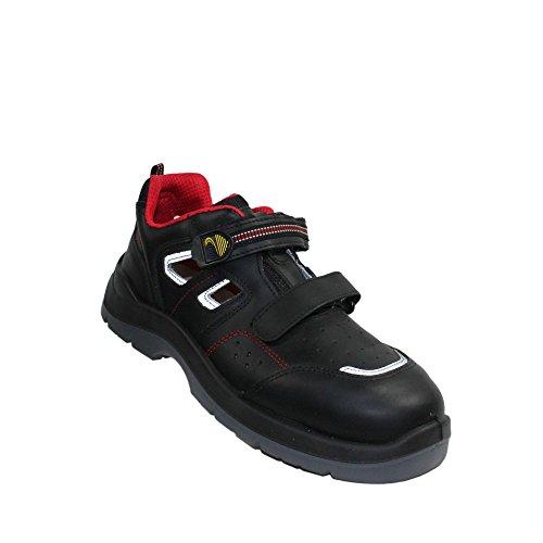 Lupos sL - 21 berufsschuhe businessschuhe s1P sRC chaussures de chaussures de sécurité chaussures de travail noir Noir - Noir