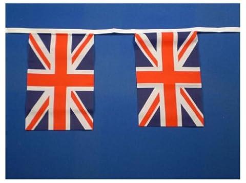 Fanions Motif Union Jack 9metres/30 m - 30 fanions