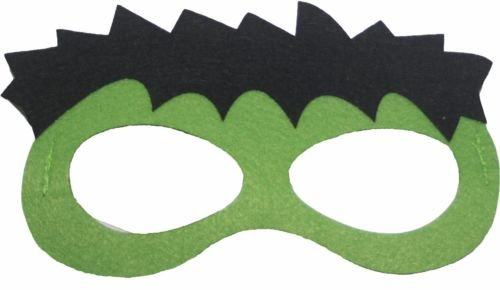 Kinder Superhelden Masken Marvel DC Spiderman Batman Avengers, Incredible Hulk, (Incredibles Maske)