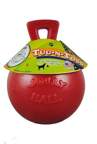 Jolly Ball Tug-N-Toss - Red 8