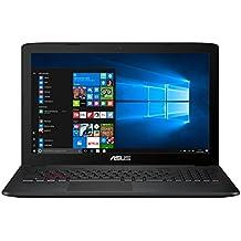 """ASUS GL552VW-DM748T - Ordenador portátil de 15.6"""" FullHD (Intel Core i7-6700HQ, 8 GB de RAM, 1 TB HDD, NVIDIA GeForce GTX960M 2GB, Windows 10 Original), negro y gris - Teclado QWERTY Español"""