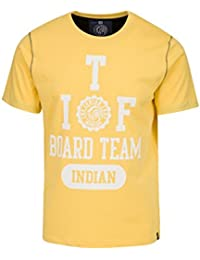 THE INDIAN FACE Camiseta Manga Corta Amarillo L