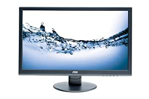 AOC E2752VA 27 inch Widescreen LED Multimedia Monitor (1920x1080, 5ms, VGA, DVI, Eco Mode, i-Menu, e-Saver)