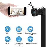 Mini WIFI Hidden Spy Camera Telecamera Spia 【 HD 4K 】con Batteria Integrata...