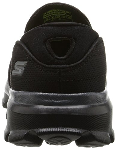 Skechers Go Walk 3charge, Baskets Basses homme Noir/noir