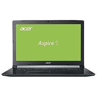 Acer Aspire 5 (A517-51-36LH) 43,9 cm (17,3 Zoll Full-HD matt) Multimedia Laptop (Intel Core i3-7020UF, 8, 1.000 GB HDD, Intel UHD, Win 10) schwarz