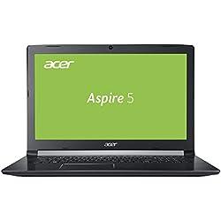 Acer Aspire 5 (A517-51-36LH) 43,9 cm (17,3 Zoll Full-HD matt) Multimedia Laptop (Intel Core i3-7020UF, 8, 1.000 GB HDD, Intel UHD, Win 10) schwarz Acer Aspire