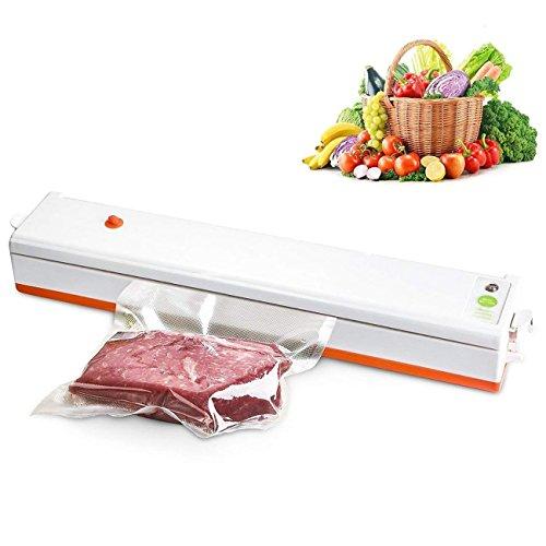 CR#ST Vakuumiergerät Vakuumierer Lebensmittel Schweißnaht Lebensmittel bleiben bis zu 8x länger mit 30cm lange Schweißnaht Vakuumierer automatisch vakuumieren und schweißen