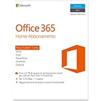 Microsoft Office 365 Home [5 PC / 1 anno] (Versione 2016)