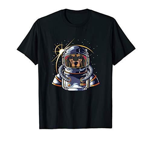 Niedliche Damen Alien Kostüm - Astronaut Dackel im Weltraum Wiener Wurstliebhaber