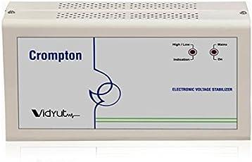 Crompton Greaves ACG-170VAC 4000-Watt Voltage Stabilizer (Ivory)