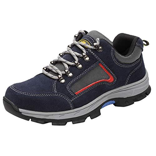 ODRD- Schuhe Paar Fahion Fly Knit Schutzschuhe Anti Smashing Anti Piercing Arbeitsschuhe Schuhe Sneaker Stiefel Stiefeletten Combat Hallenschuhe Worker Boots Laufschuhe Sports -
