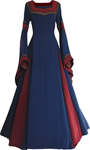 Dornbluth Damen Mittelalterkleid Guinevere Made in Germany (36/38, ()