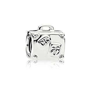 Pandora Damen Silber Charm Reisekoffer 790362