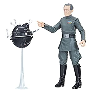 Hasbro Star Wars e1202e48Star Wars The Black Series Grand moff tarkin, Figura de acción, joven