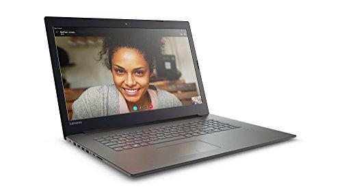 Lenovo IdeaPad 320 43,9 cm (17,3 Zoll HD+ Anti-Glare) Notebook (Intel Core i3-7100U Dual-Core, 8 GB RAM, 1 TB HDD, DVD-Brenner, Intel HD Grafik 620, Windows 10) schwarz (onyx black) - 3