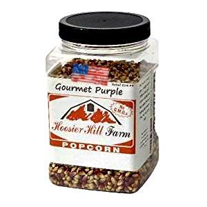 American Popcorn Mais - Original Purple (1,81 kg) echter USA Feinschmecker Popping Corn für Kochfeld, Airpopper oder Mikrowelle