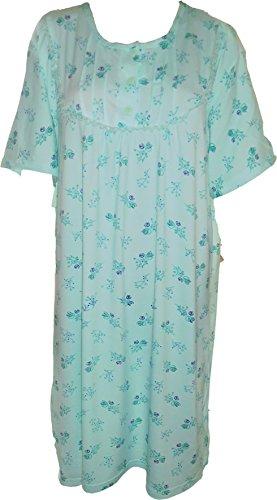 Camicia da notte, con maniche corte 714 Menta