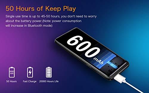 32 GB Reproductor MP3,  con Bluetooth 4.2,  con Radio FM,  Grabación,  Pantalla de 2.4