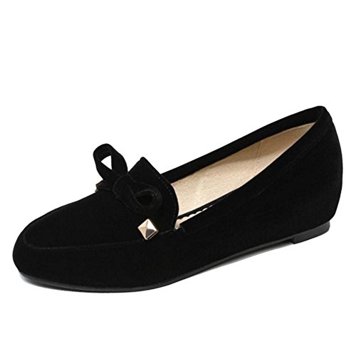Coolcept Femmes Casual a Enfiler Escarpins Black