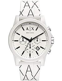 9c6aa30793da Armani Exchange Reloj Cronógrafo para Hombre de Cuarzo con Correa en  Silicona AX1340