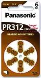 Panasonic Hörgerätebatterien PR312 (10 Blister Pack - 60 Batterien)
