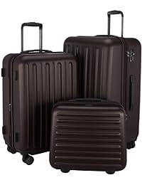 HAUPTSTADTKOFFER - Tegel - Hartschalenkoffer Pilotenkoffer 3er Koffer-Set Trolley-Set Rollkoffer Reisekoffer, TSA, in 3 Größen S, M & L