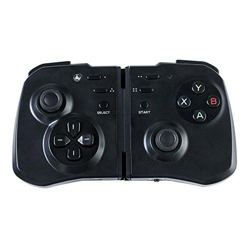 y1cheng Gamepad wireless Gamepad Bluetooth 4.0Joystick Android/iOS Smartphone/PC Pad Flache TV Box VR integrierter 500mAh Lithium Akku -