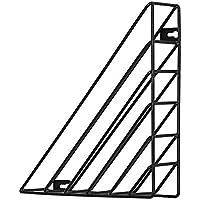 IrahdBowen Revista de Metal Alambre Rack/Periódico Rack/Desk Rack File/Desk Rack File, el Organizador de Escritorio de Office se Puede Utilizar en su Escritorio o en Rack Organizador