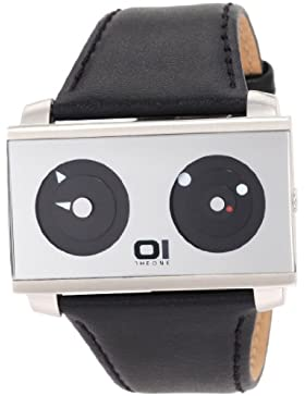 Binary The One Unisex-Armbanduhr Spinning Wheel AN05G01