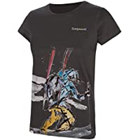 Trangoworld The Lonely WM Long Camiseta, Mujer, Sombra Oscura, S