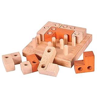 Le yi Wang You San Bodhi® Wooden Building Blocks Kong Ming Luban Lock Adults Kids Puzzle Educational Toys